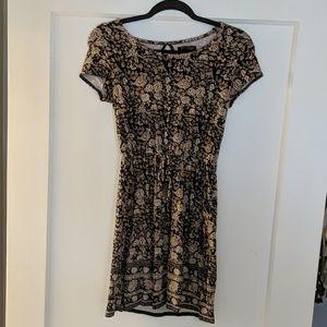 Lucky brand floral short sleeve dress